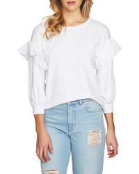 1.STATE   Ruffle Pullover   Lyst