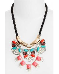 Adia Kibur - Crystal Rope Necklace - Lyst