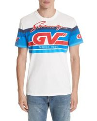 Givenchy - Motocross Graphic T-shirt - Lyst