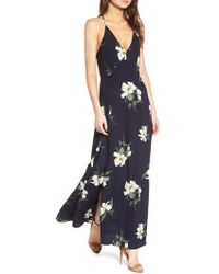 Storee - Floral Maxi Dress - Lyst