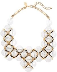 Natasha Couture - Bib Necklace - Lyst