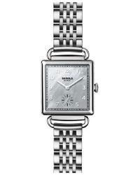 Shinola - Cass Bracelet Watch - Lyst