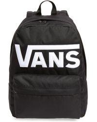 ab0da281c9 Lyst - Vans Logo Backpack in Black for Men