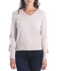 Kut From The Kloth - Marlee Ruffle Sleeve Sweater - Lyst