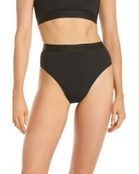 Beth Richards - Kim High Waist Bikini Bottoms - Lyst