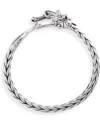 John Hardy - Legends Naga Sterling Silver Bracelet - Lyst