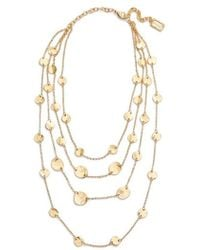 Karine Sultan | Manon Layered Necklace | Lyst
