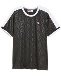 Fila - Marc Interlock Soccer T-shirt - Lyst