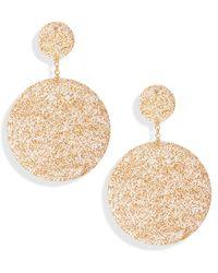 Mad Jewels - Shimmer Shine Drop Earrings - Lyst