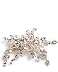 Brides & Hairpins - Isadora Crystal Hair Clip - Lyst