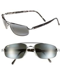 Maui Jim - 'kahuna -polarizedplus2' 59mm Sunglasses - Gunmetal - Lyst