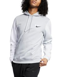 3c914dac5 Nike Sportswear City Brights Club Men's Pullover Hoodie in Gray for ...