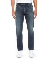 Jean Shop - Mick Slim Straight Leg Jeans - Lyst