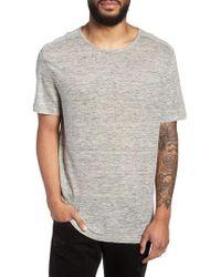 John Varvatos - John Varvatos X Nick Jonas Linen T-shirt - Lyst