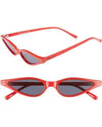c3398ec6e2 Lyst - Circus By Sam Edelman 56mm Combo Cat Eye Sunglasses in Green