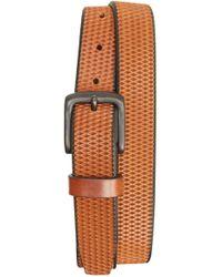 Remo Tulliani - Laser Cut Leather Belt - Lyst
