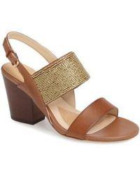 Isola - Lia Block Heel Sandal - Lyst