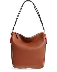 Sondra Roberts | Colorblock Faux Leather Hobo | Lyst