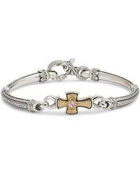 Konstantino - Hermione Silver & Gold Bracelet - Lyst