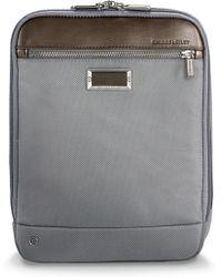 Briggs & Riley - @work Expandable Ballistic Nylon Crossbody Bag With Rfid Pocket - - Lyst