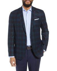 Ted Baker - Konan Trim Fit Windowpane Wool Sport Coat - Lyst