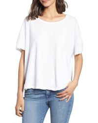 James Perse - Boxy Tee - Lyst