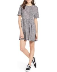 Volcom - Boraborado Print Dress - Lyst