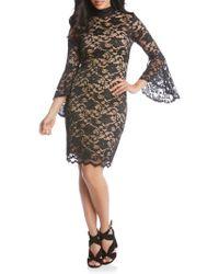 Karen Kane - Laila Lace Sheath Dress - Lyst