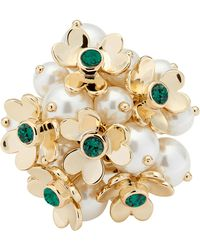 Ted Baker - Haldis Heart Blossom Cocktail Ring - Lyst
