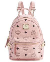 MCM - 'x-mini Stark Side Stud' Convertible Backpack - Lyst