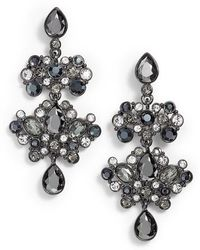Givenchy | Crystal Chandelier Drop Earrings | Lyst