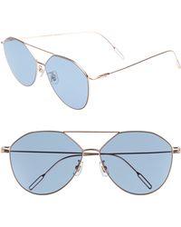 70fff65bb53 Lyst - Karen Walker Starburst Sunglasses In Navy gold in Blue
