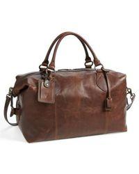 Frye - Logan Overnight Leather Duffle Bag - Lyst