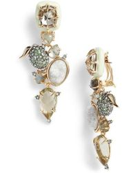 Alexis Bittar | Lime Stone Cluster Clip On Earrings | Lyst