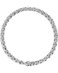 John Hardy - Chain Silver Cable Necklace - Silver - Lyst