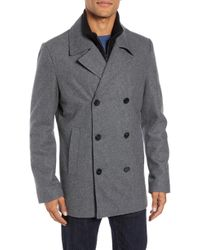 Vince Camuto - Dock Peacoat - Lyst