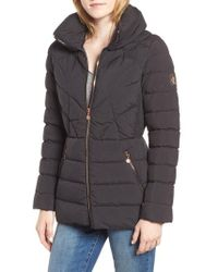 Bernardo - Microtouch Pillow Down & Feather Fill Jacket - Lyst