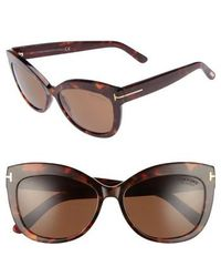 Tom Ford - Alistair 56mm Gradient Sunglasses - Lyst