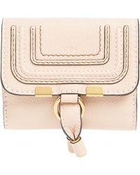 Chloé - 'marcie' French Wallet - Lyst