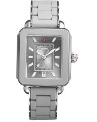 Michele - Deco Sport Bracelet Watch - Lyst