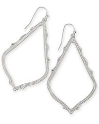 Kendra Scott | 'sophee' Textured Drop Earrings | Lyst