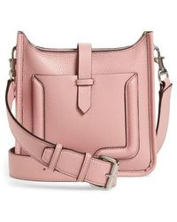 Rebecca Minkoff - Mini Unlined Leather Feed Bag - Lyst
