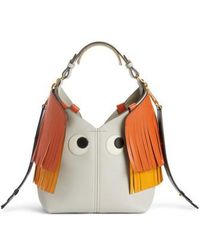Anya Hindmarch | Build A Bag Mini Creature Leather Shoulder Bag With Genuine Shearling | Lyst