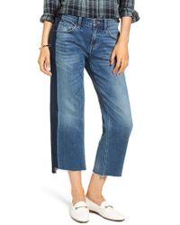 Treasure & Bond - Shelter Wide Leg Crop Jeans - Lyst