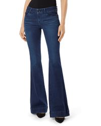 J Brand - Love Story Flared Jeans - Lyst