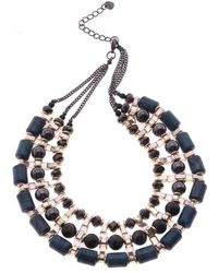 Nakamol - Multistrand Collar Necklace - Lyst