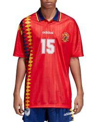 adidas Originals - Adidas Original Spain 1994 Soccer Jersey - Lyst