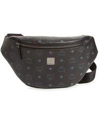 MCM - Stark Faux Leather Belt Bag - - Lyst