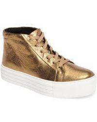 Kenneth Cole | Janette High Top Platform Sneaker | Lyst