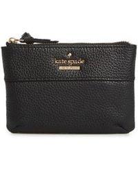 Kate Spade - Jackson Street Mila Leather Zip Pouch - - Lyst
